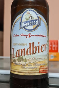 Monchshof Landbier by Kulmbacher Brauerei