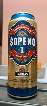 Sopeno 1 by Kalnapilis Brewery