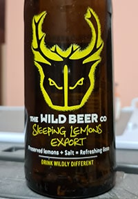 Sleeping Lemons Export by The Wild Beer Co