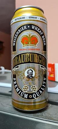 Brauburger Weizenbier by Karlsberg Brauerei