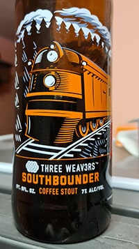 Southbounder Coffee Stout by Three Weavers Brewing Company