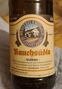 Schammelsdorfer Rauchsudla by Brauerei Knoblach Schammelsdorf
