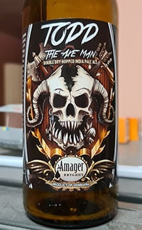 Todd - The Axe Man by Amager Bryghus