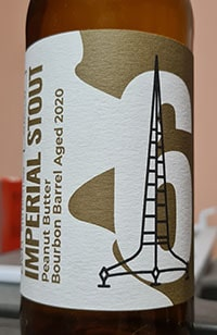 Imperial Stout Peanut Butter Bourbon by Browar Stu Mostow