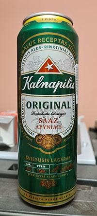 Kalnapilis Original by Kalnapilis Brewery