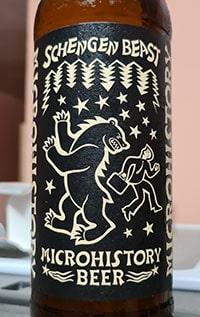 Вкус пива Microhistory beer Schengen Beast можно поделить на две части. Первая это неприятный привкус травы.