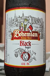 Black Lager от Bohemian Kings Beer