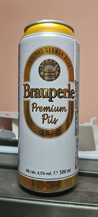 Brauperle Premium Pils by Karlsberg Brauerei
