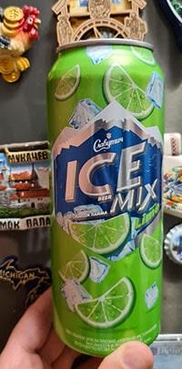 Славутич Ice Beer Mix Lime от Carlsberg Ukraine