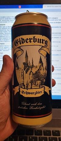 Eiderburg Schwarzbier by Privatbrauerei Eibau