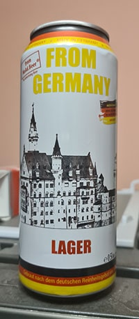 From Germany Lager by Noad.beer GmbH