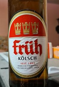 Fruh Kolsch by Colner Hofbrau Fruh