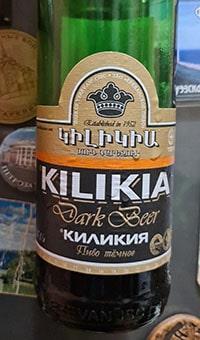 Kilikia Dark by Yerevan Brewery
