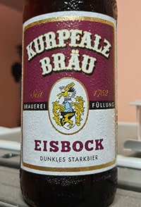 Kurpfalzbrau Eisbock by Welde Braumanufaktur