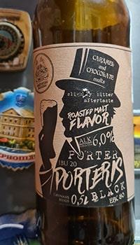 Porteris Black Beer by Aukstaitijos Bravorai