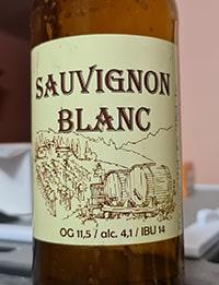 Sauvignon Blanc от Одесская Частная Пивоварня