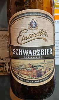 Schwarzbier by Privatbrauerei Einsiedler Brauhaus