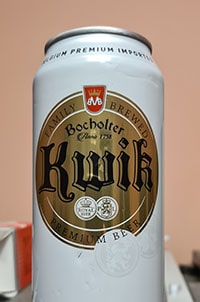 Bocholter Kwik Lager Bier by Brouwerij Martens
