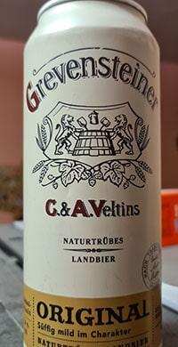Grevensteiner Original Naturtrübes Landbier by Brauerei VELTINS