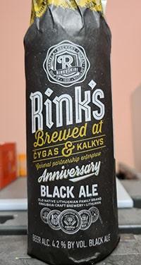 Rink's Anniversary Black Ale by Rinkuskiai