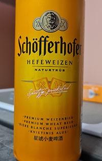 Schofferhofer Weizen by Radeberger Gruppe