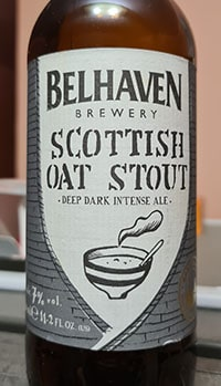 Scottish Oat Stout by Belhaven Brewery