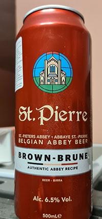 St. Pierre Brune by Brouwerij Palm