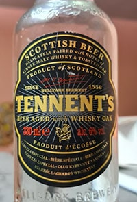 Tennent's Whisky Oak Aged by Tennent's Caledonian Brewery